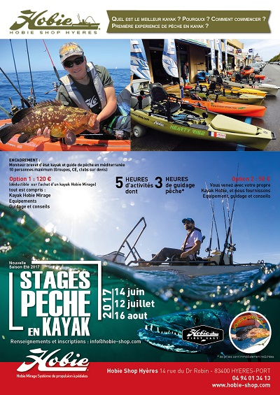 affiche fishing hobie shop 2017
